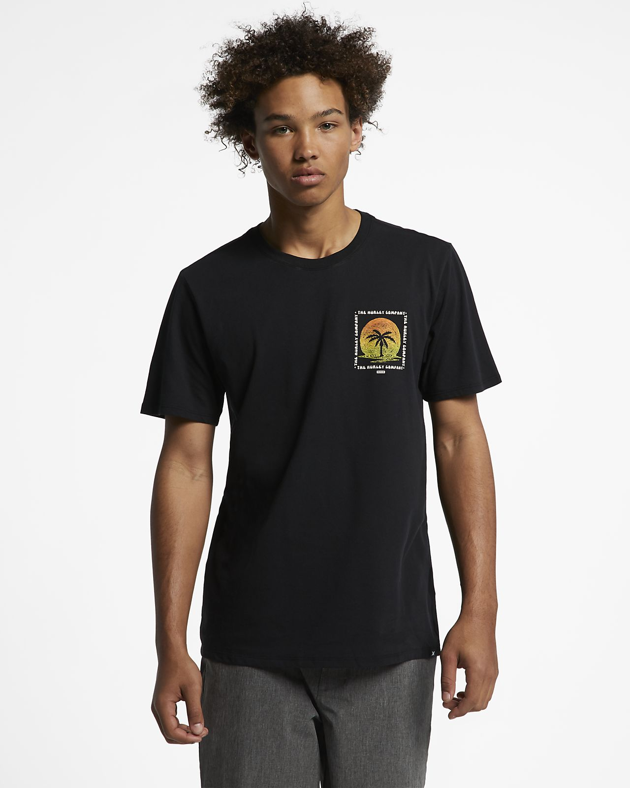 Мужская футболка Hurley Dri-FIT Trippy Palms