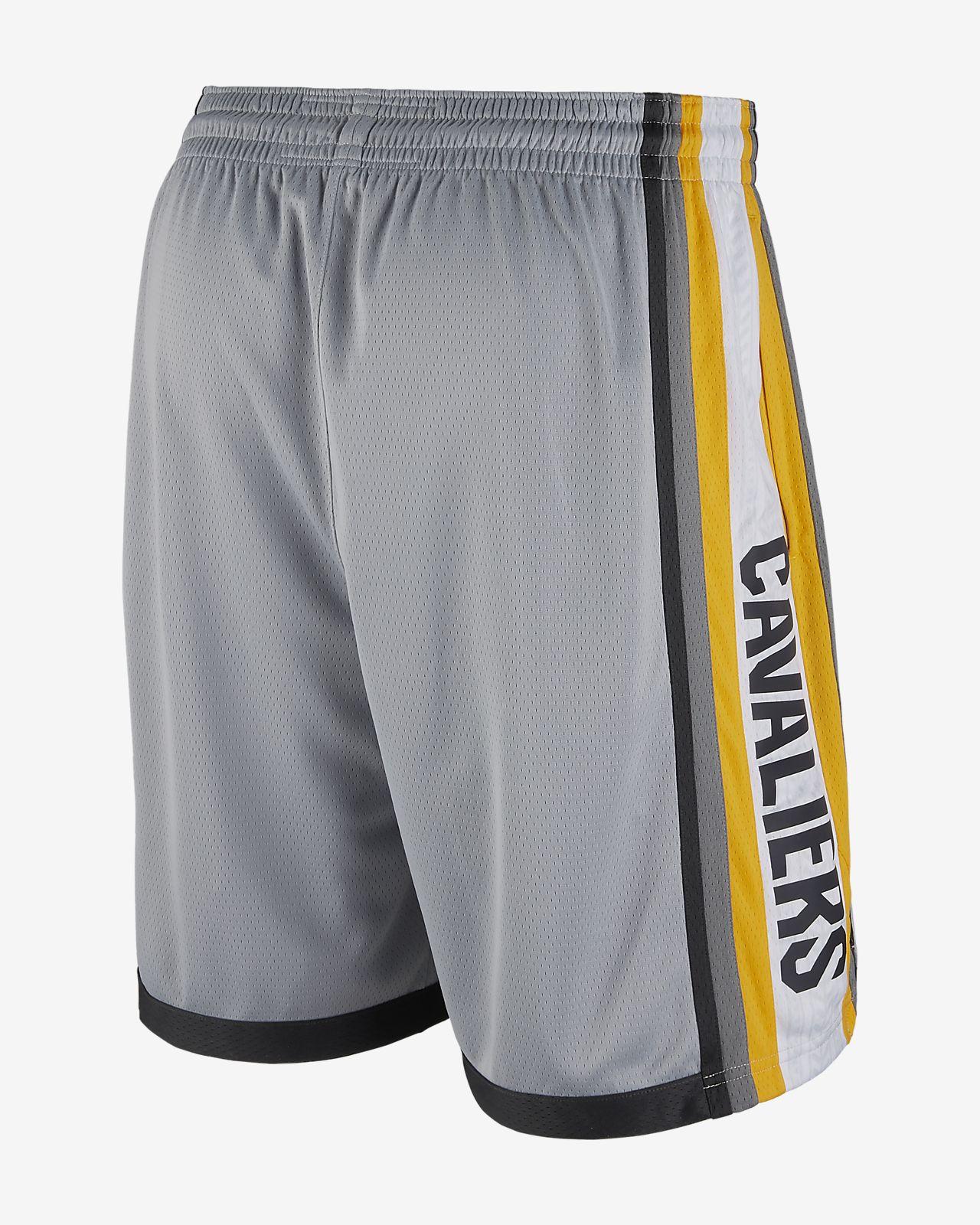 511971ed9 ... Shorts de NBA para hombre Cleveland Cavaliers Nike City Edition Swingman