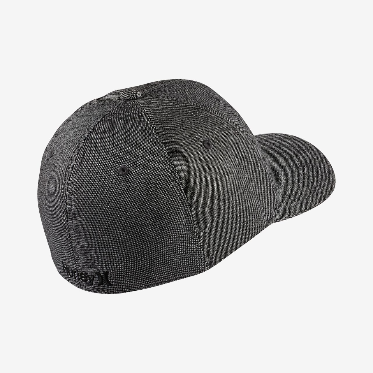 ... Hurley Black Suits Men's Fitted Hat