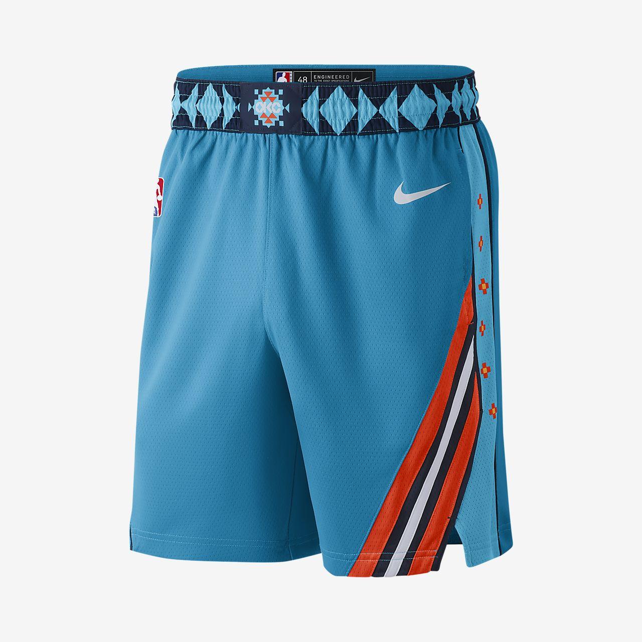 b7899c53f56 ... Oklahoma City Thunder City Edition Swingman Men's Nike NBA Shorts