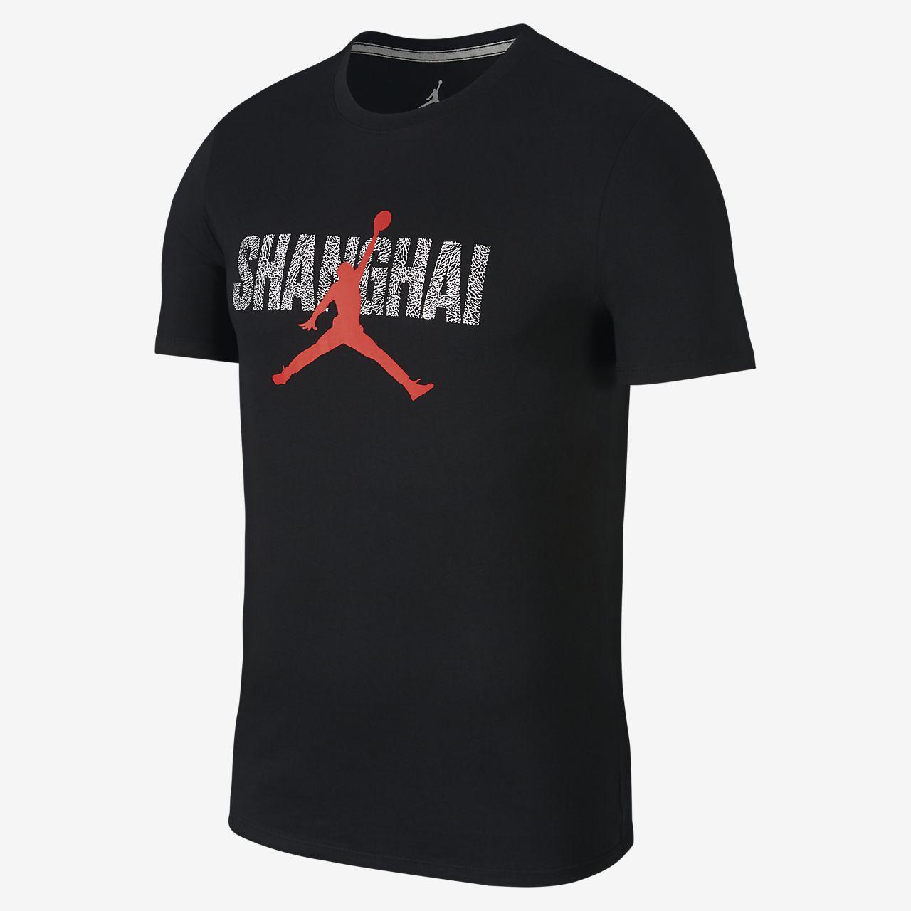 "Jordan ""Shanghai"" City 男子T恤"