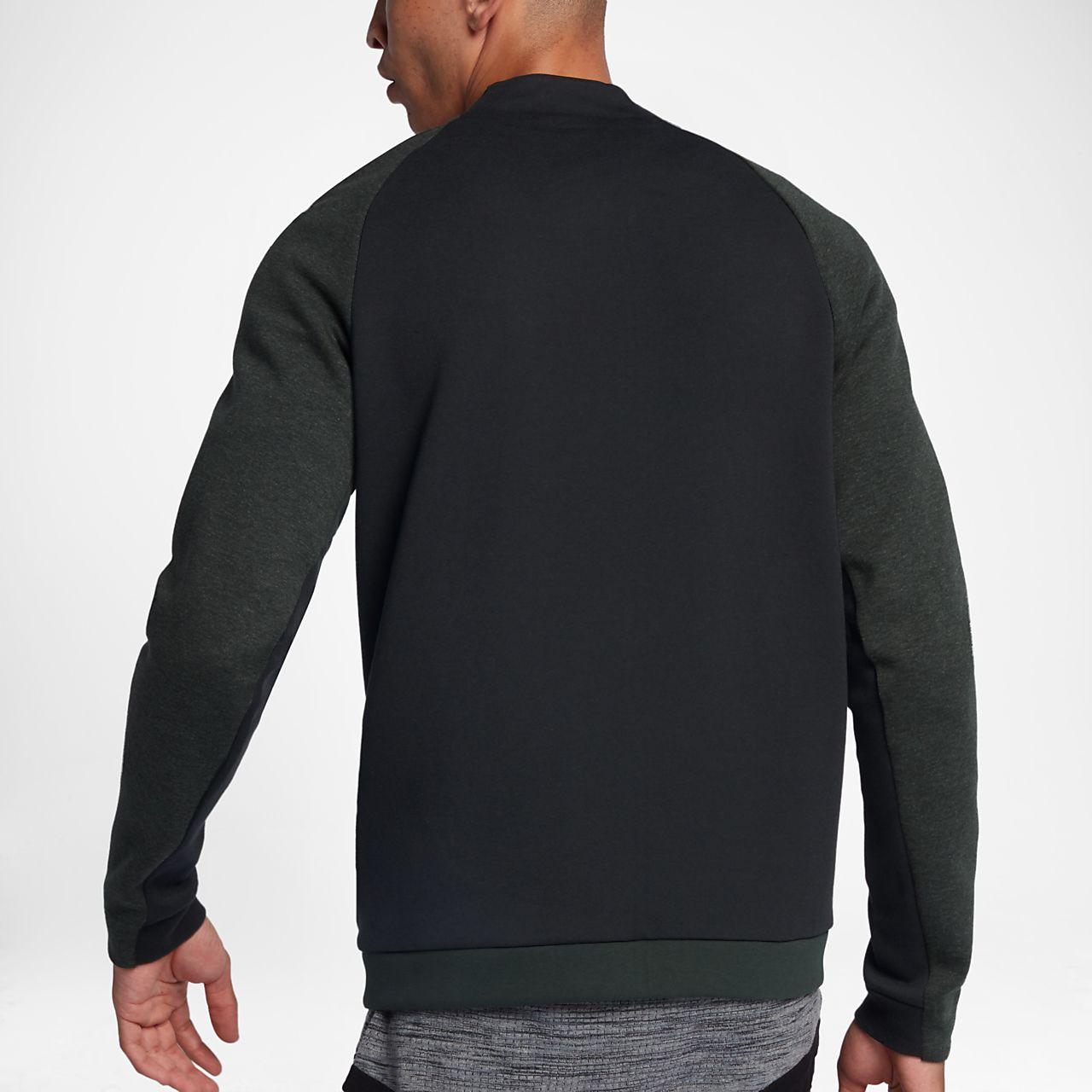 Nike tech fleece varsity men's jacket