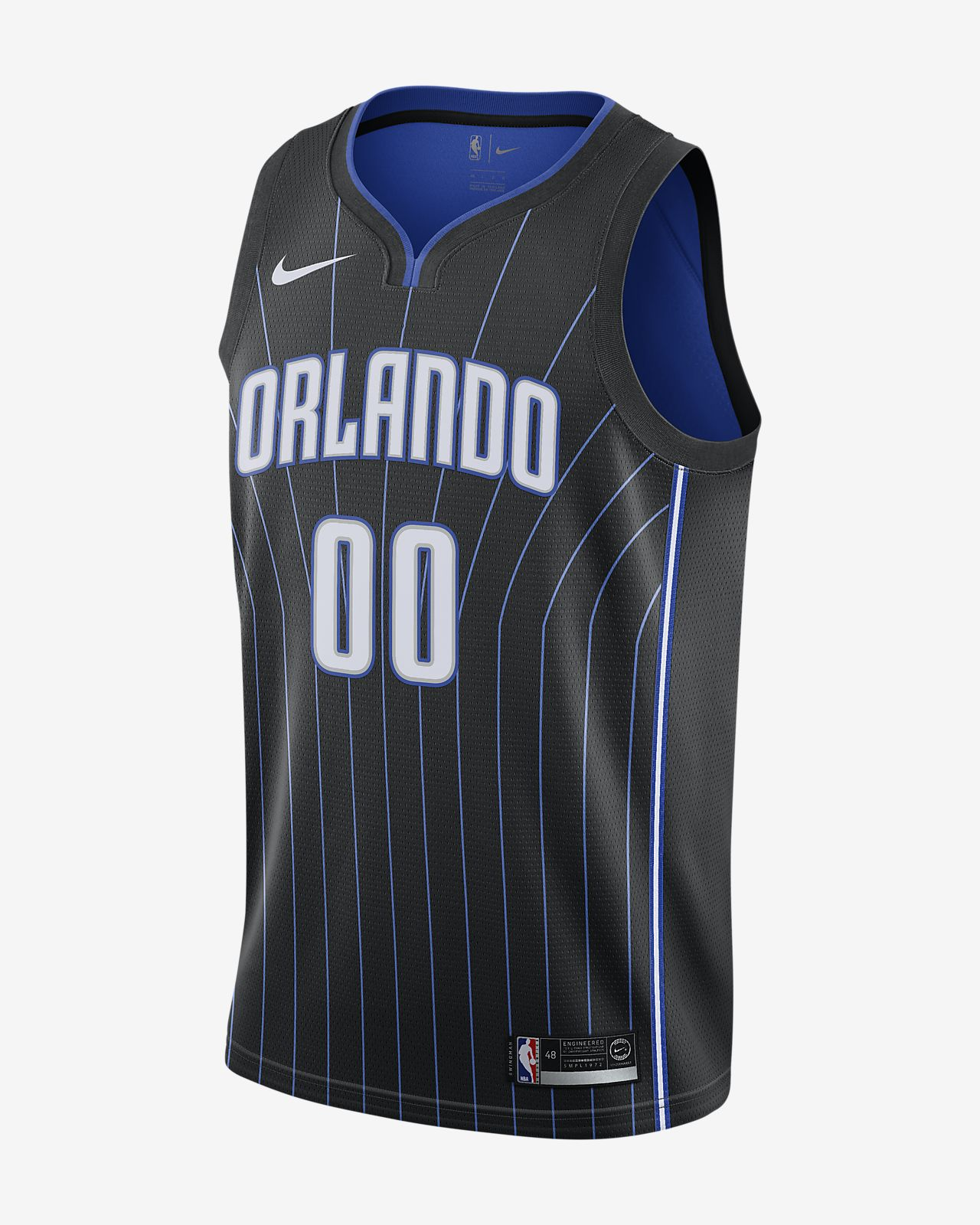 buy popular 879cc ec70b Aaron Gordon Statement Edition Swingman (Orlando Magic) Men's Nike NBA  Connected Jersey