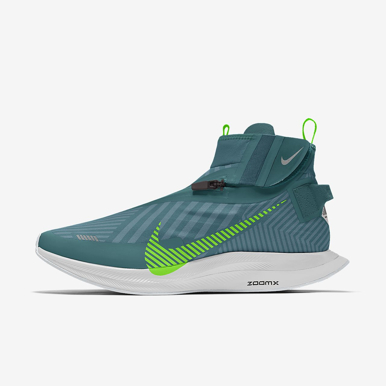 Scarpa da running personalizzabile Nike Zoom Pegasus Turbo Shield By You - Uomo