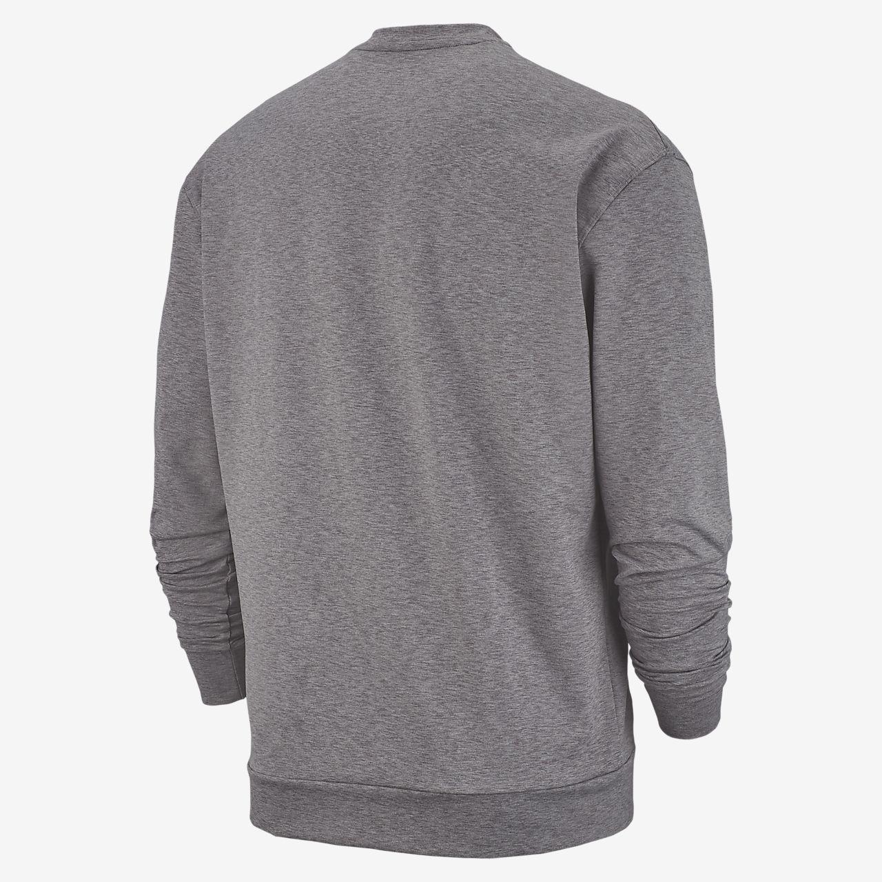Camisola de manga comprida Nike Yoga Dri FIT para homem