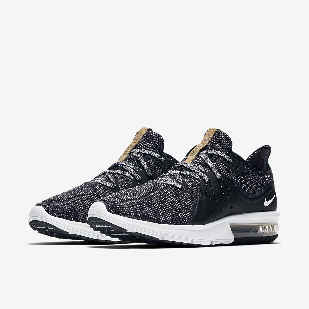 Nike Air Max Sequent 3 M Black men   Rubino