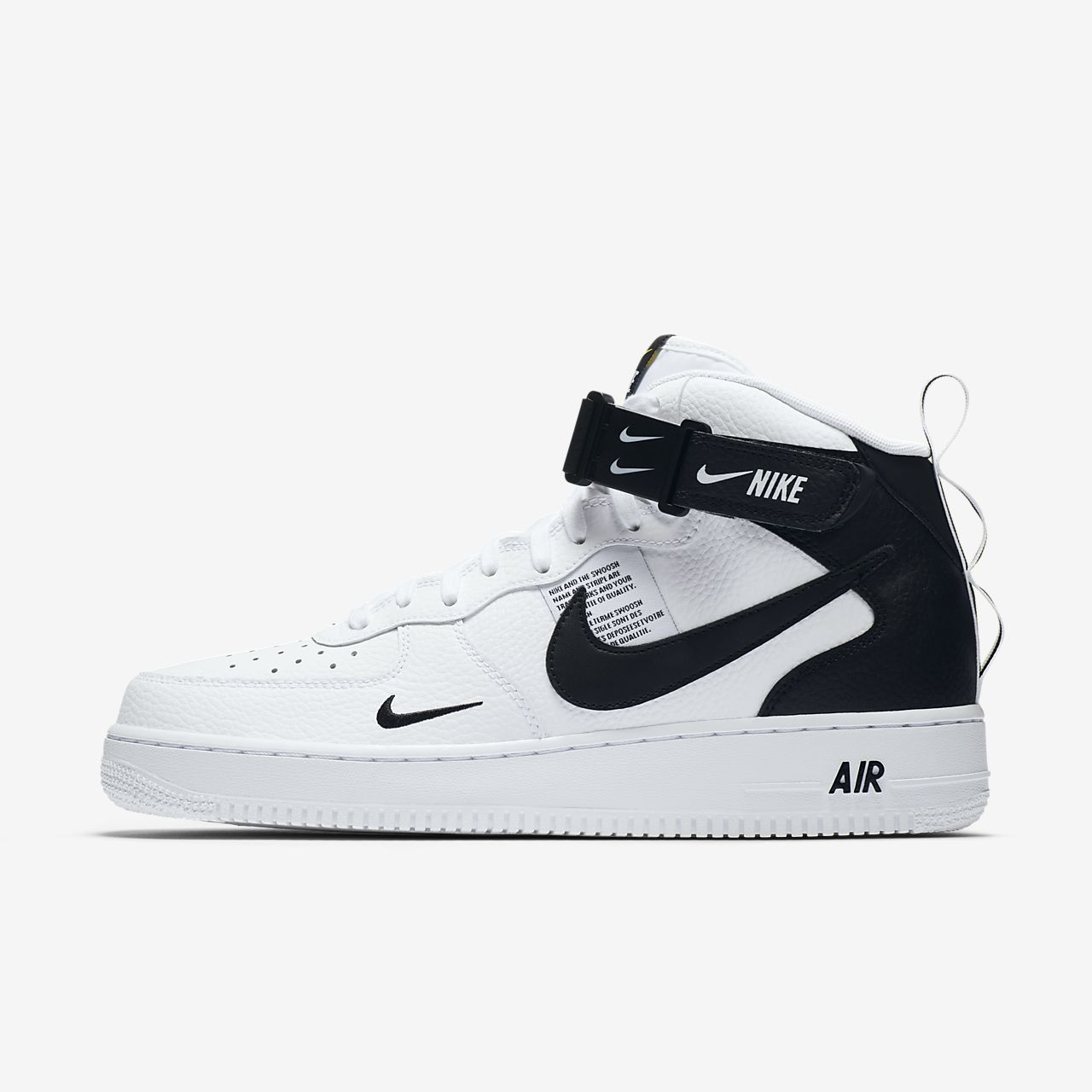 air force 1 uomo mid nere