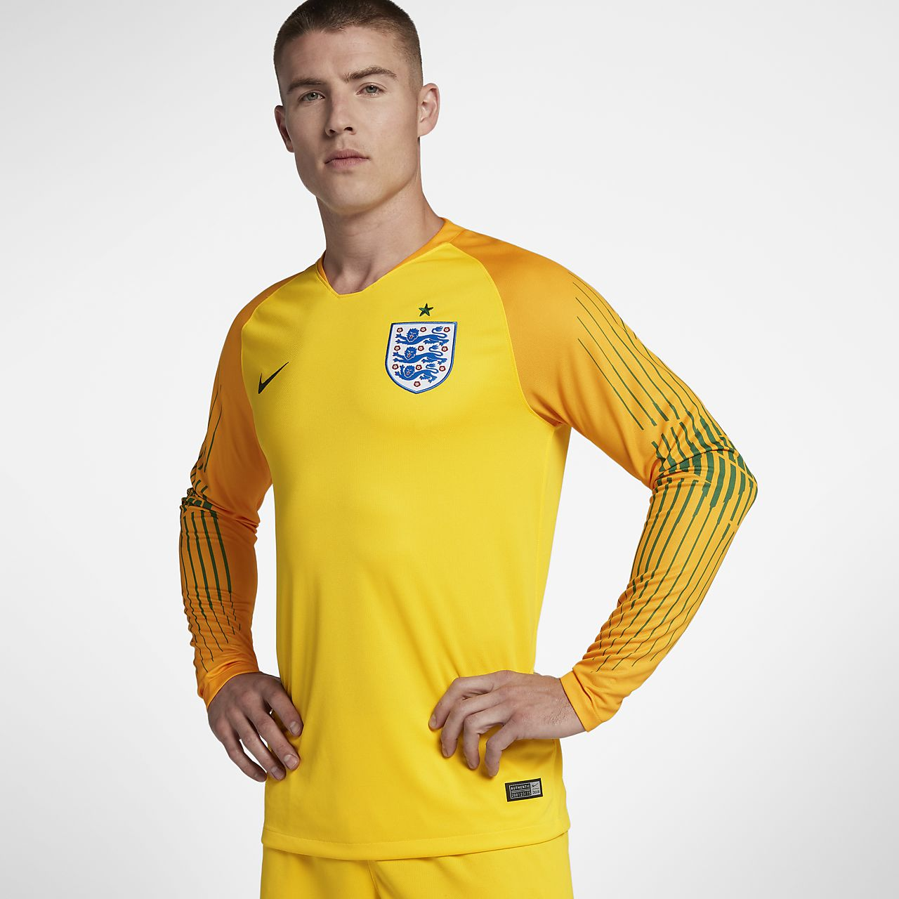 2018 England Stadium Goalkeeper Men's Football Shirt