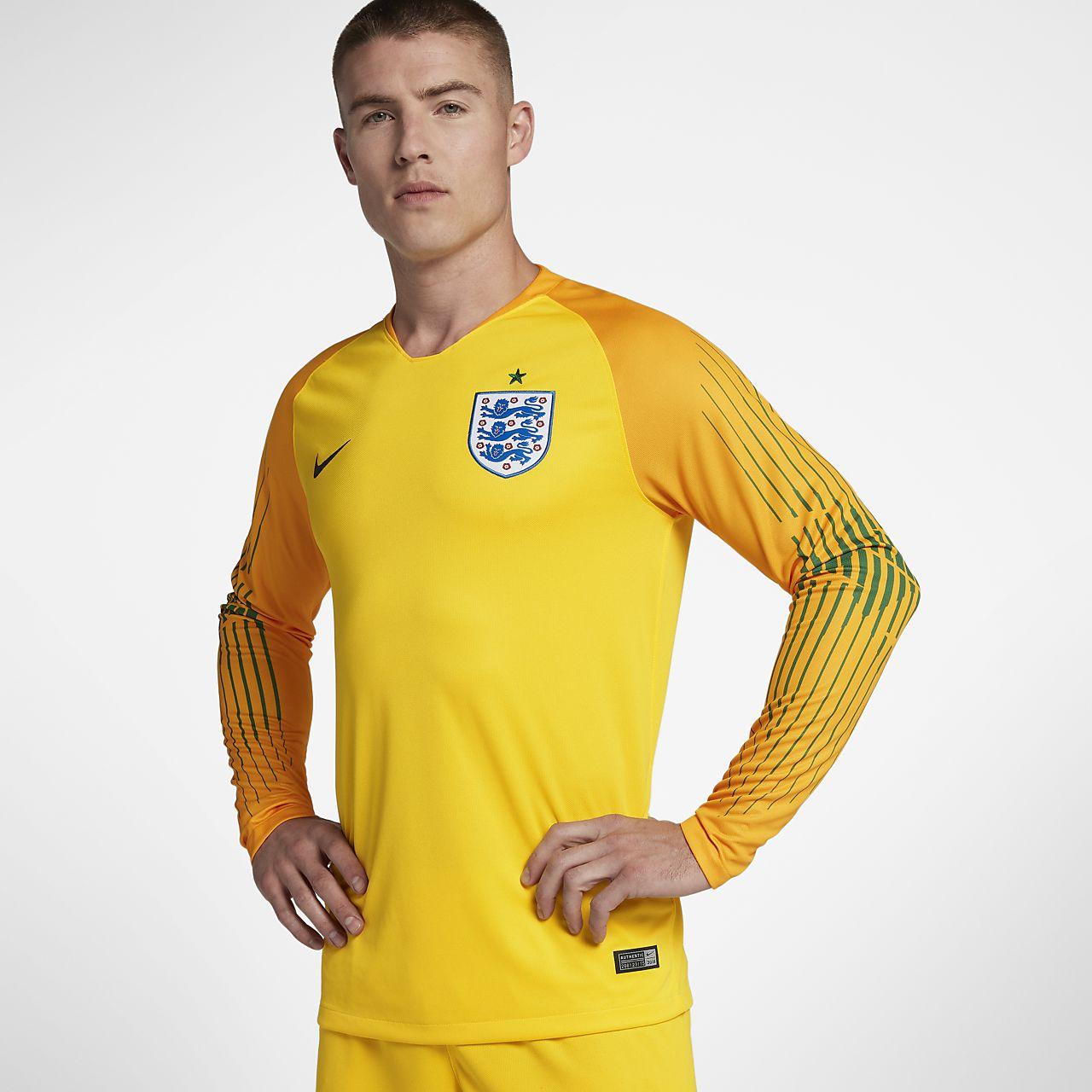 Maillot de football 2018 England Stadium Goalkeeper pour Homme