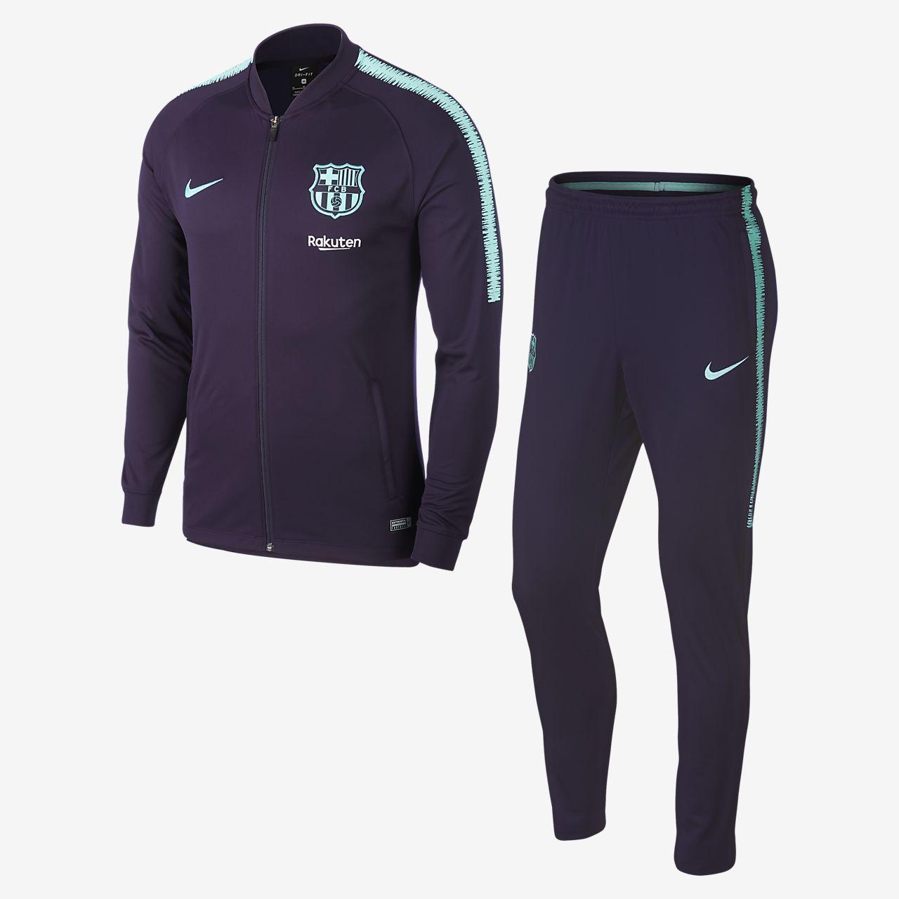 Homme Survêtement Squad Football Fc Nike Pour Barcelona Dri De Fit FRxq8SRPOw