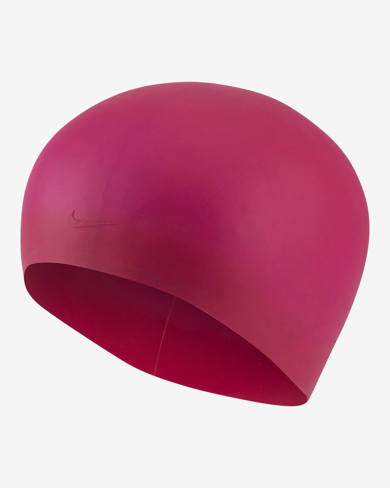 Nike Long Hair Silicone Swim Cap