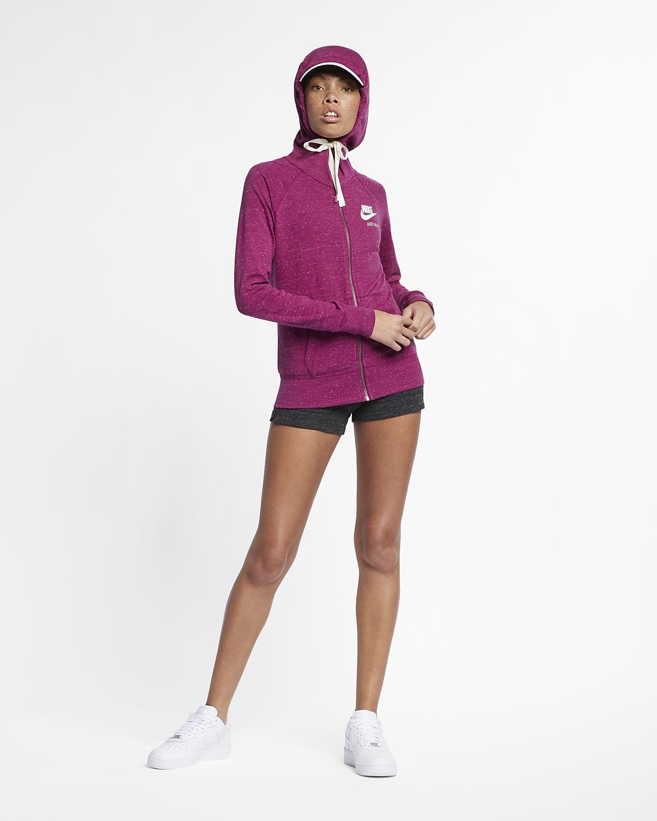 c21ec5057e79 Nike Sportswear Gym Vintage Women s Full-Zip Hoodie. Nike.com