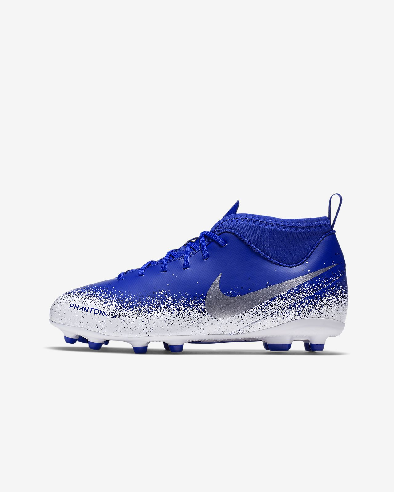 newest 725a9 875fa Nike Jr. Phantom Vision Club Dynamic Fit Younger/Older Kids' Multi-Ground  Football Boot