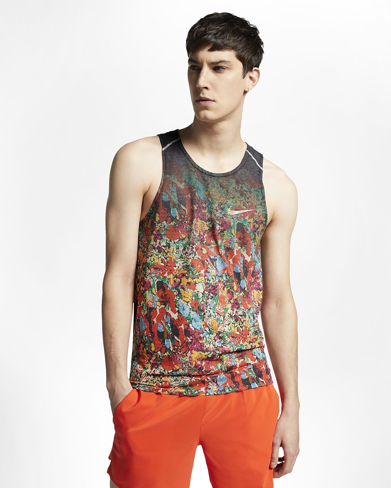 Nike Rise 365 Men's Printed Running Tank