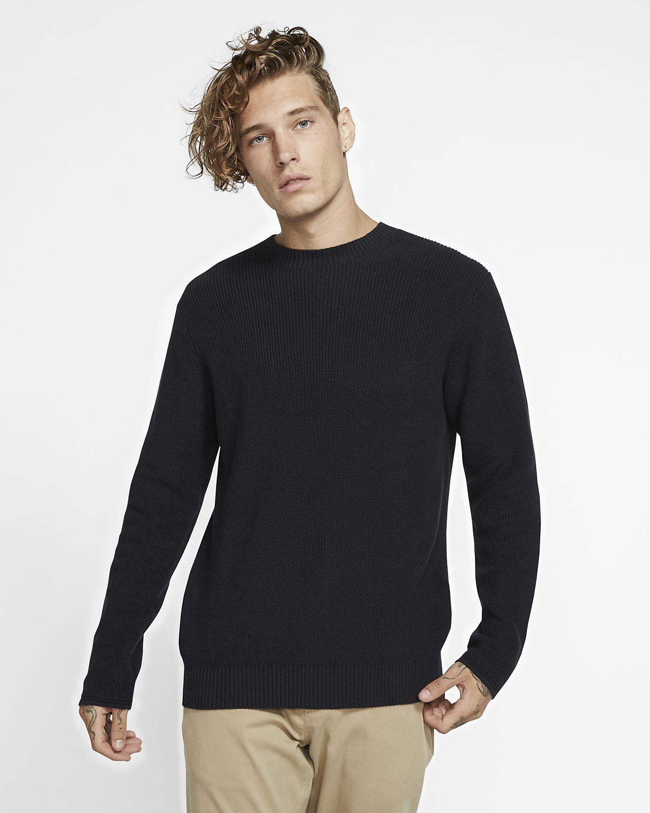 Hurley Rogers Solid-sweater til mænd