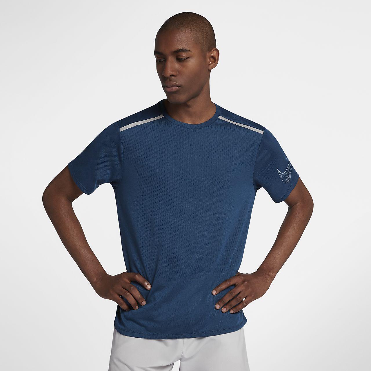 Pánské běžecké tričko s krátkým rukávem Nike Rise 365