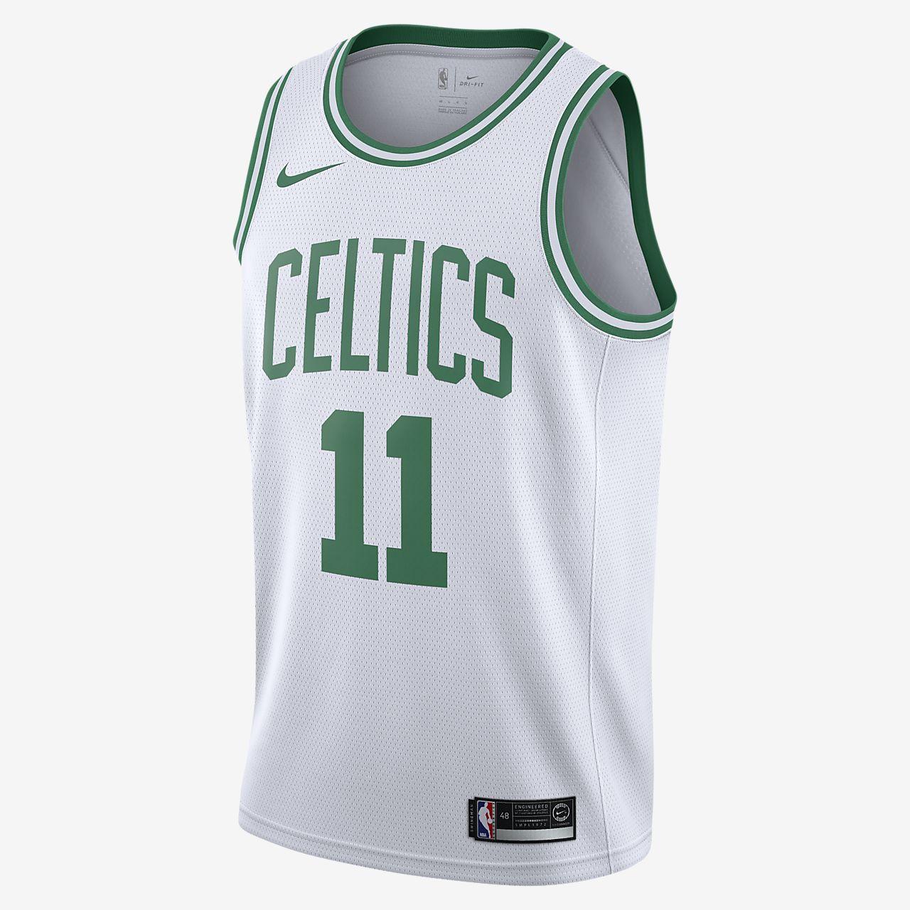 波士顿凯尔特人队 (Kyrie Irving) Association Edition Swingman JerseyNike NBA Connected Jersey 男子球衣