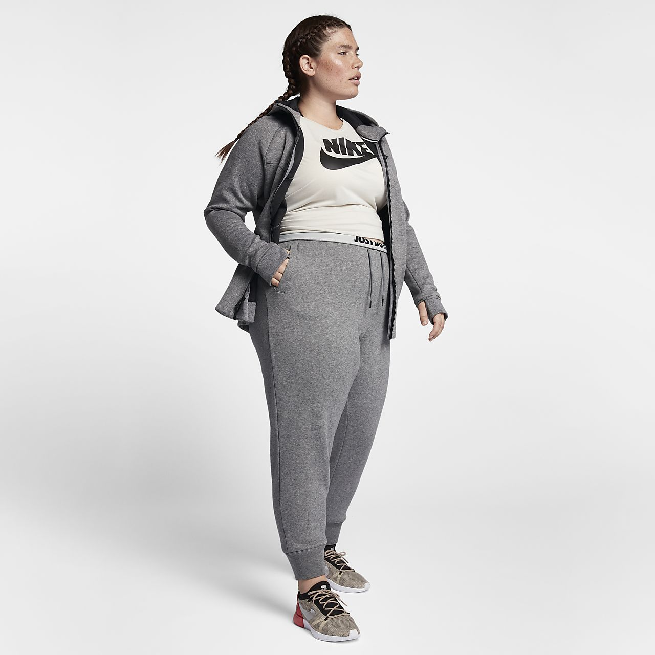 aec61d75aa1 Nike Sportswear Rally (Plus Size) Women s Trousers. Nike.com GB