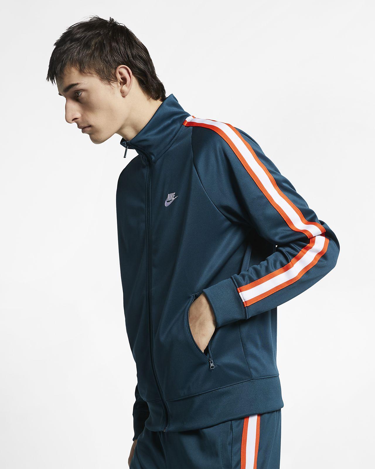 c827d296 Nike Sportswear N98 Men's Knit Warm-Up Jacket. Nike.com LU