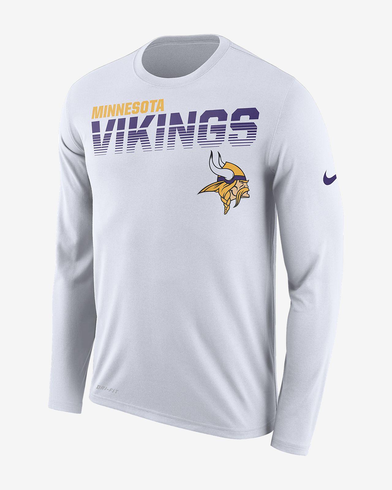 Nike Legend (NFL Vikings) Men's Long-Sleeve T-Shirt