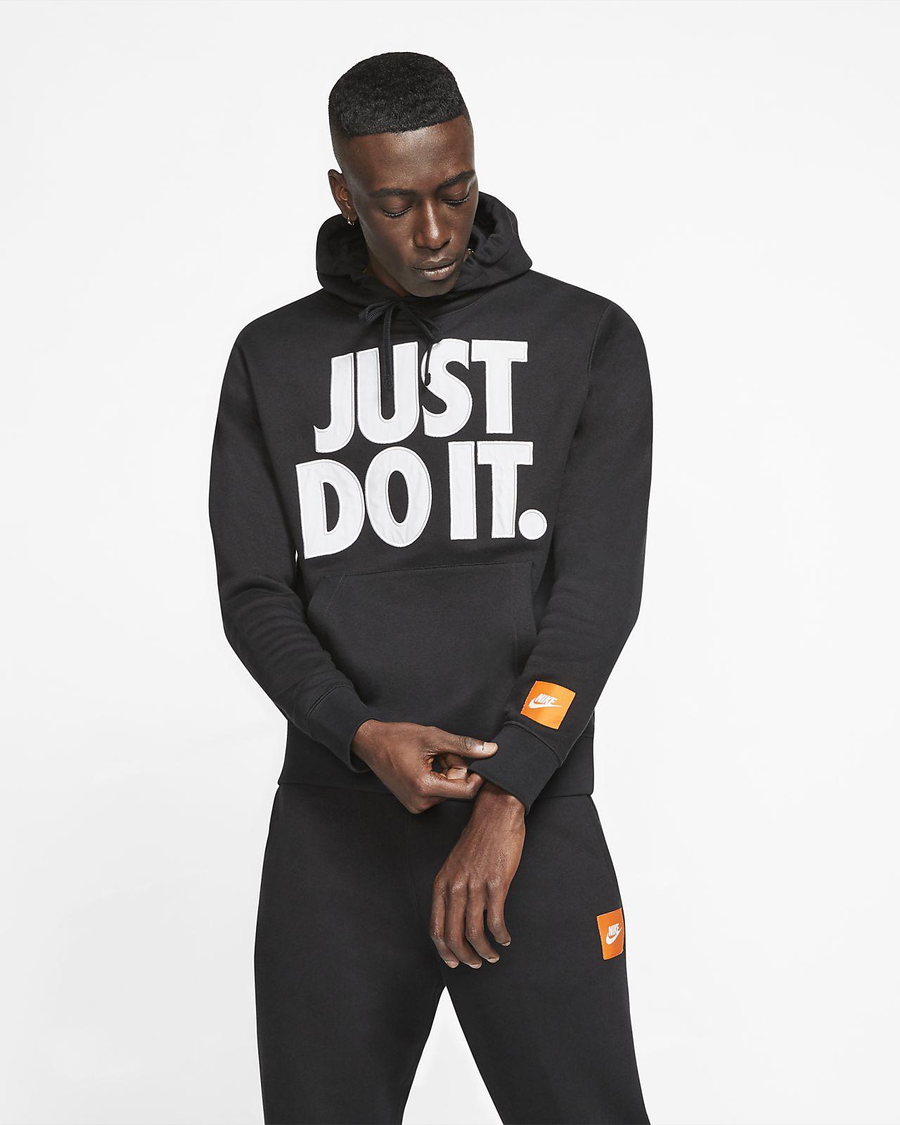 Nike Sportswear 男款 JDI Fleece 套頭連帽上衣