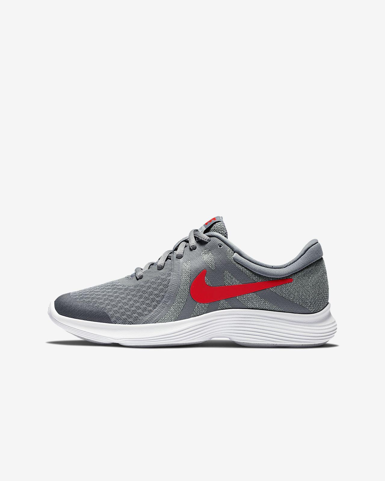 Calzado de running para niños talla grande Nike Revolution 4