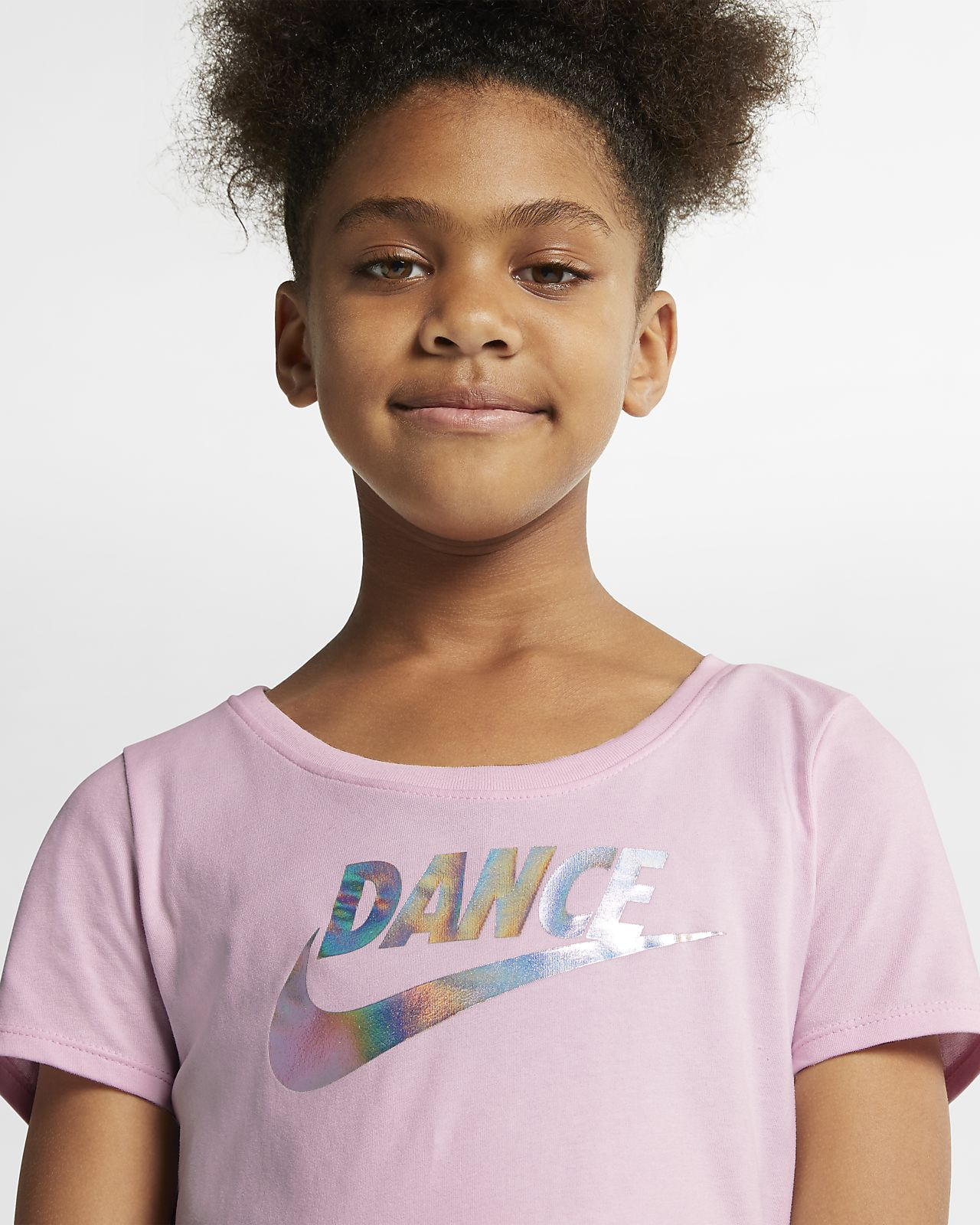 83472c6c Nike Dri-FIT Older Kids' (Girls') T-Shirt. Nike.com GB
