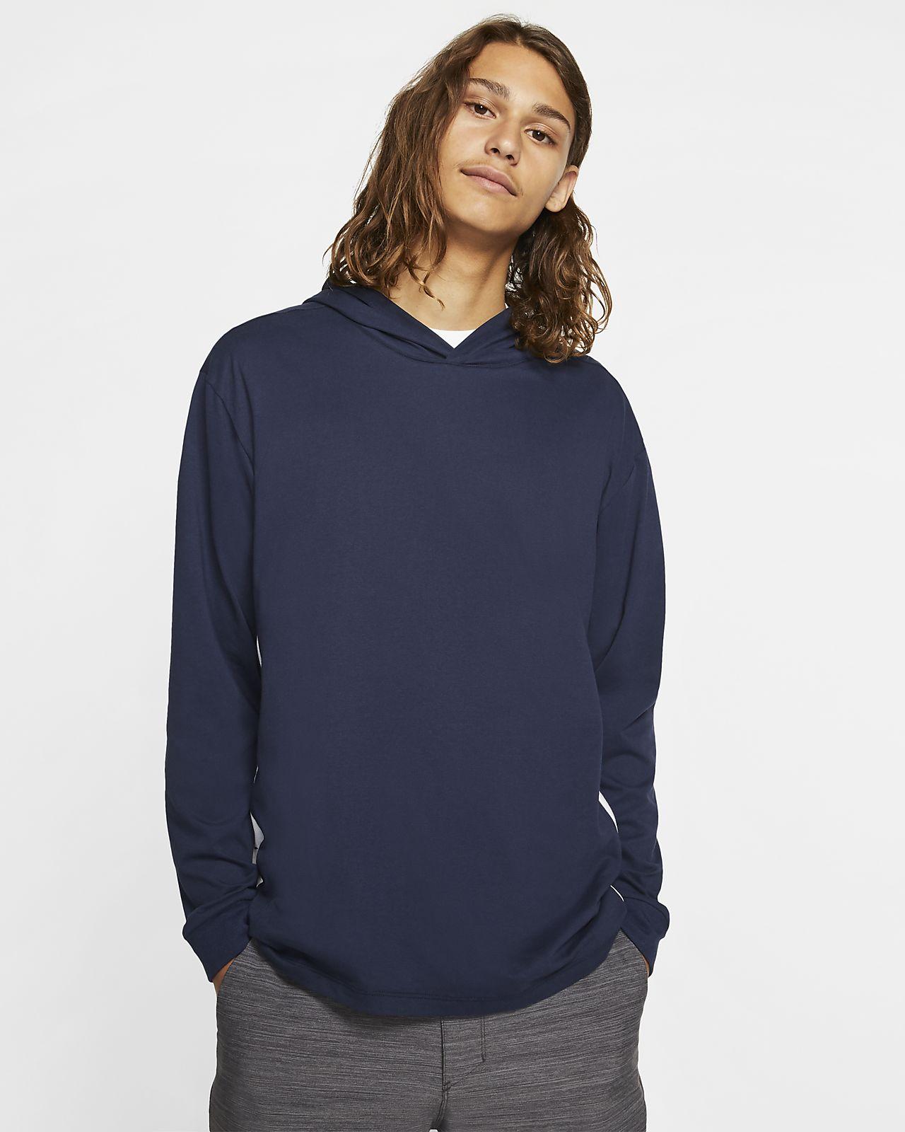 Męska bluza z kapturem i długim rękawem Hurley Dri-FIT Harvey