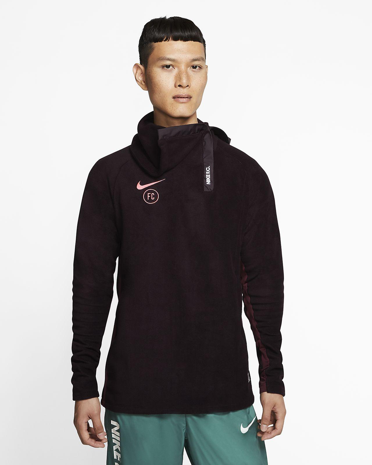 Męska treningowa koszulka piłkarska Nike F.C.