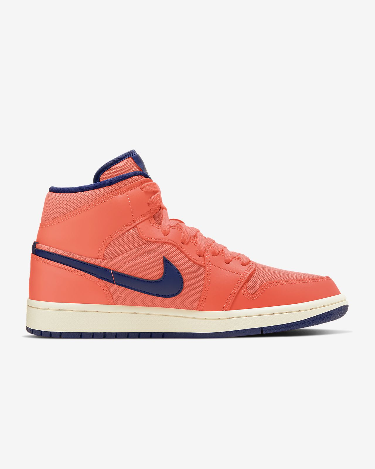 nike air jordan baskets mi-hautes orange