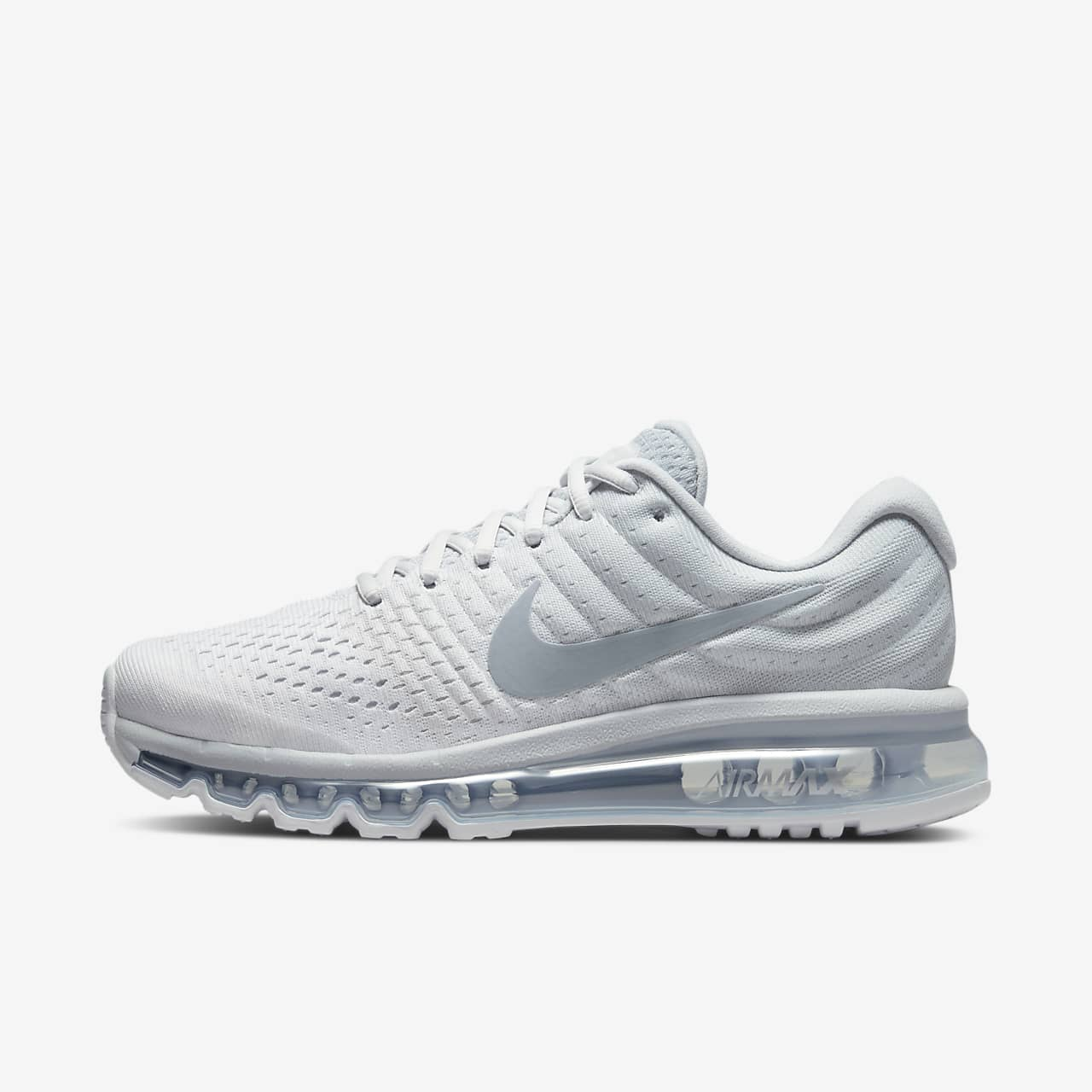 all white nike air max 2017