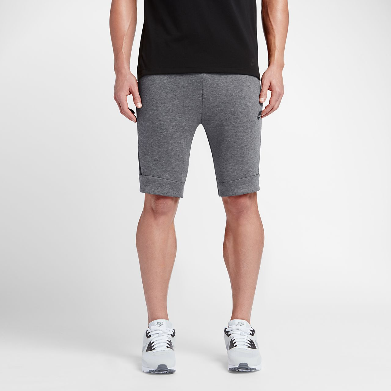mens converse fleece shorts
