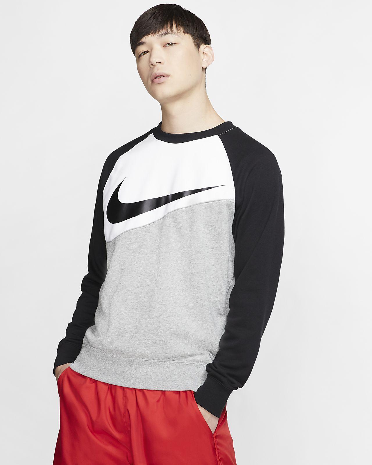 เสื้อคอกลม Swoosh ผู้ชาย Nike Sportswear