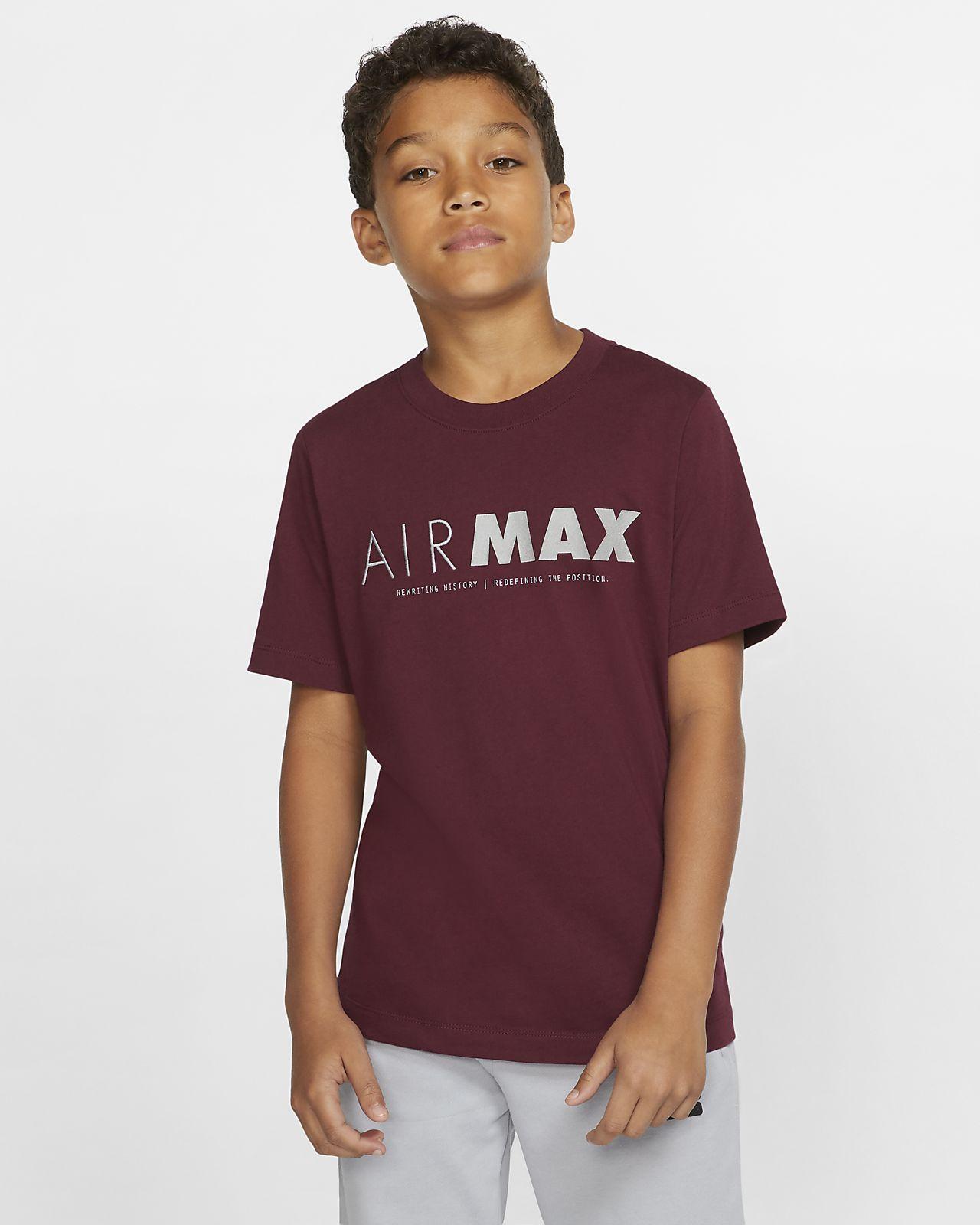 Nike Sportswear Air Max Older Kids' Short-Sleeve T-Shirt