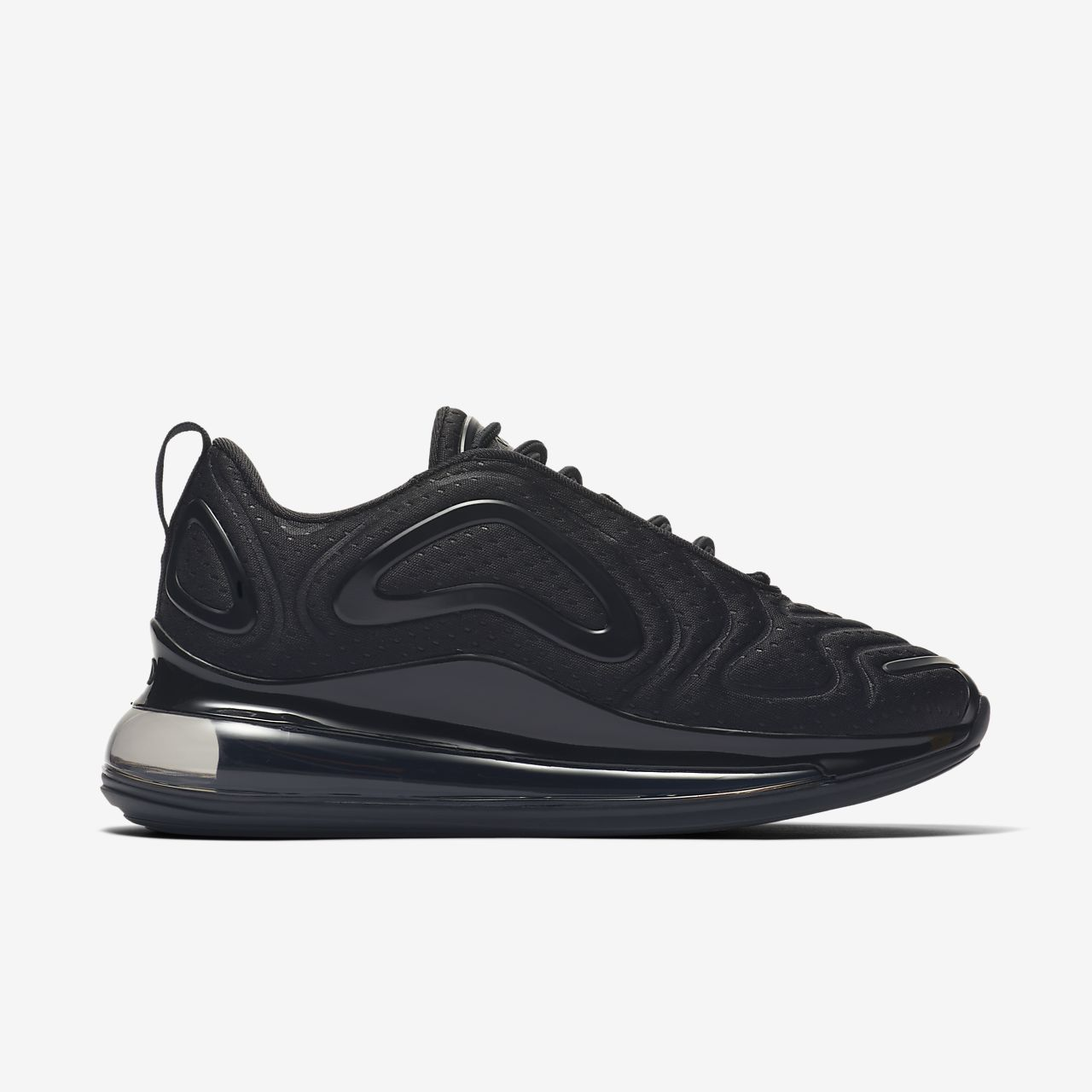 Nike Air Max 720 Black Anthracite Black Kids Boys Girls Trainers All Sizes