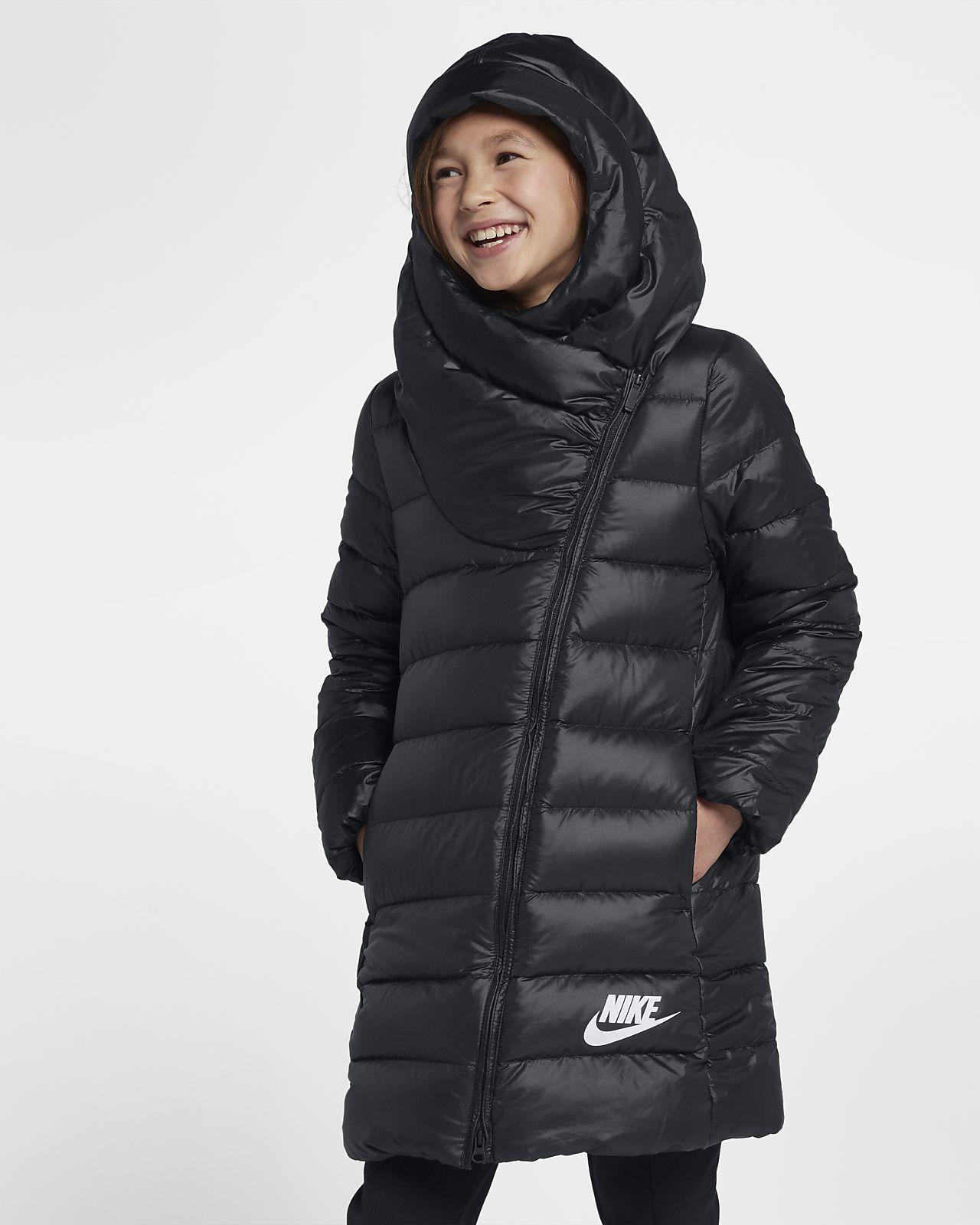 Grande Plumas Para Chaqueta Mx Nike Niñas Talla De Sportswear Zq5HO