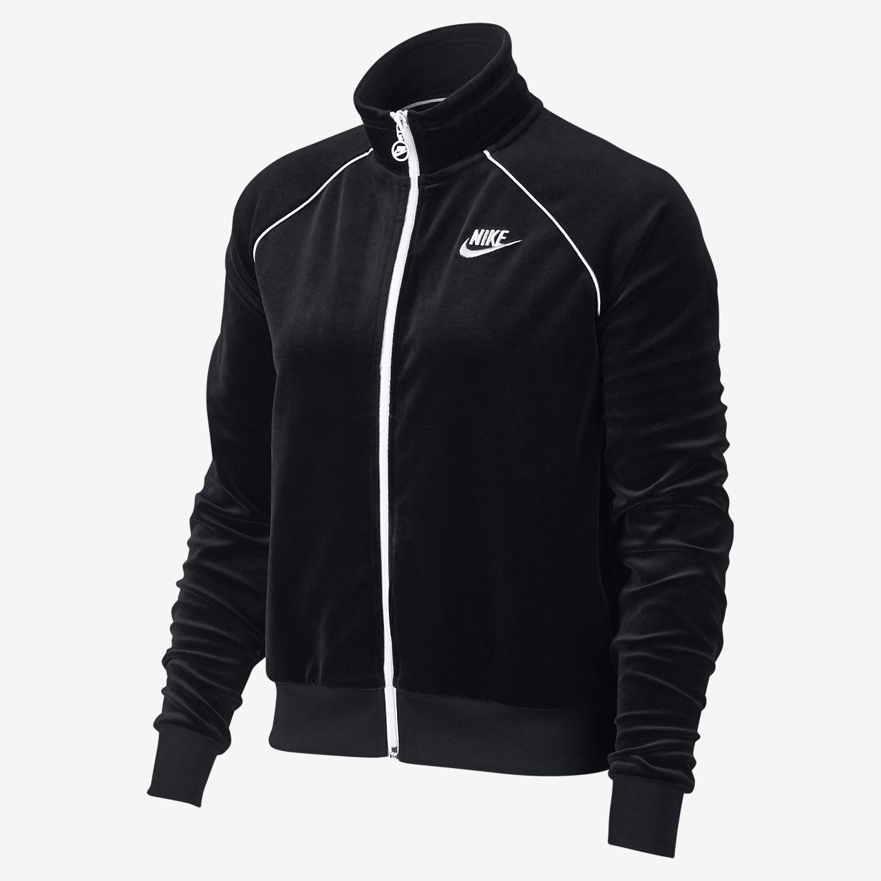 Γυναικείο βελουτέ τζάκετ φόρμας Nike Sportswear. Nike.com GR d9617947e0c