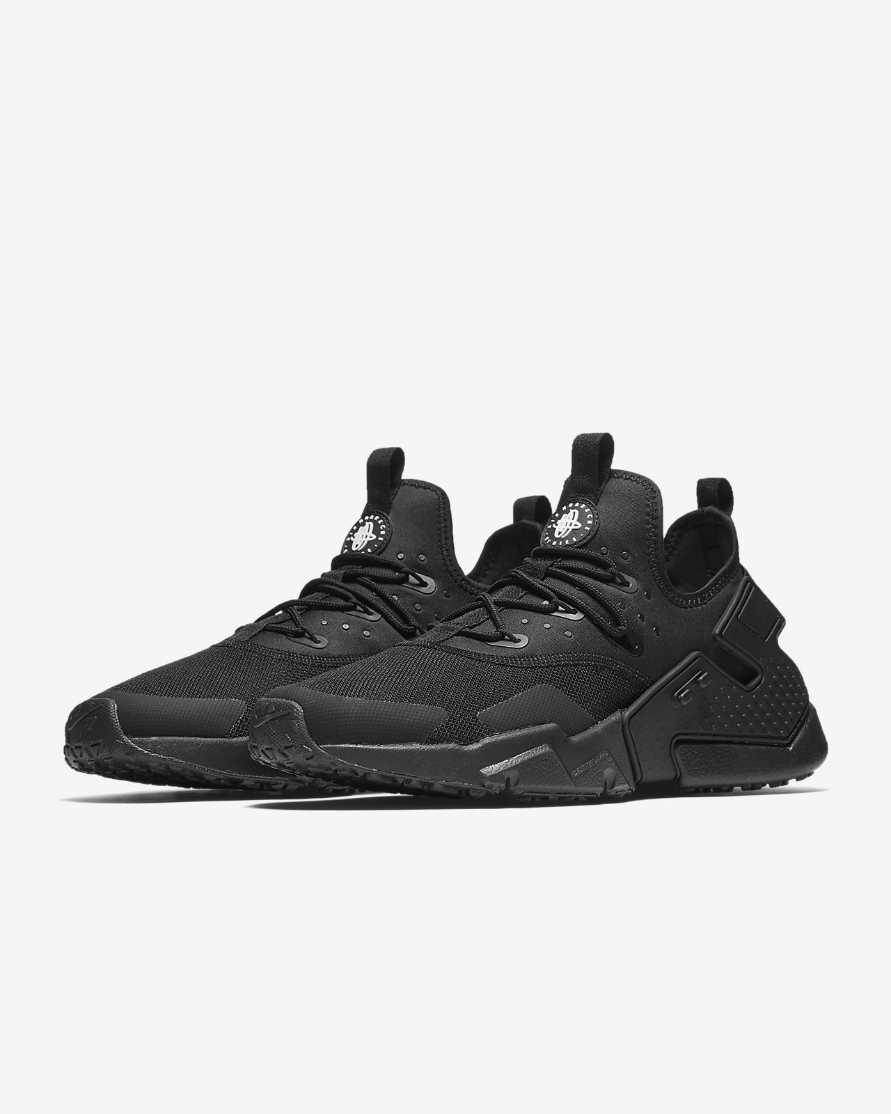 nike huarache men's all black