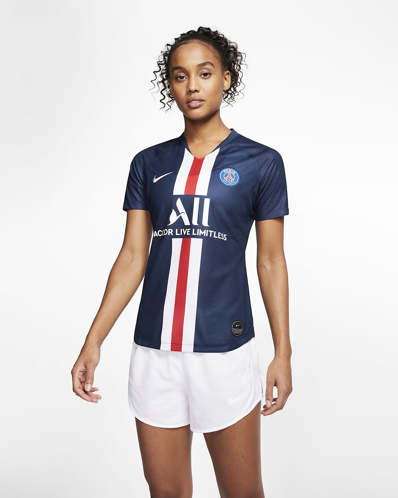 Paris Saint-Germain 2019/20 Stadium Home Kadın Futbol Forması