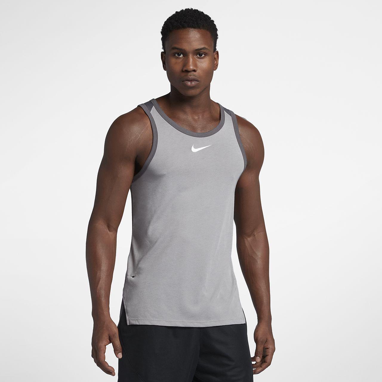 Haut de basketball sans manches Nike Breathe Elite pour Homme