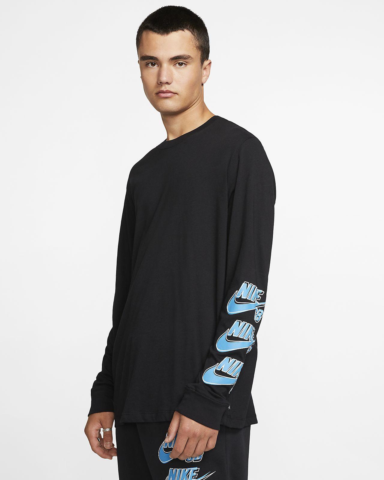 Nike SB Langarm Skate T Shirt für Herren