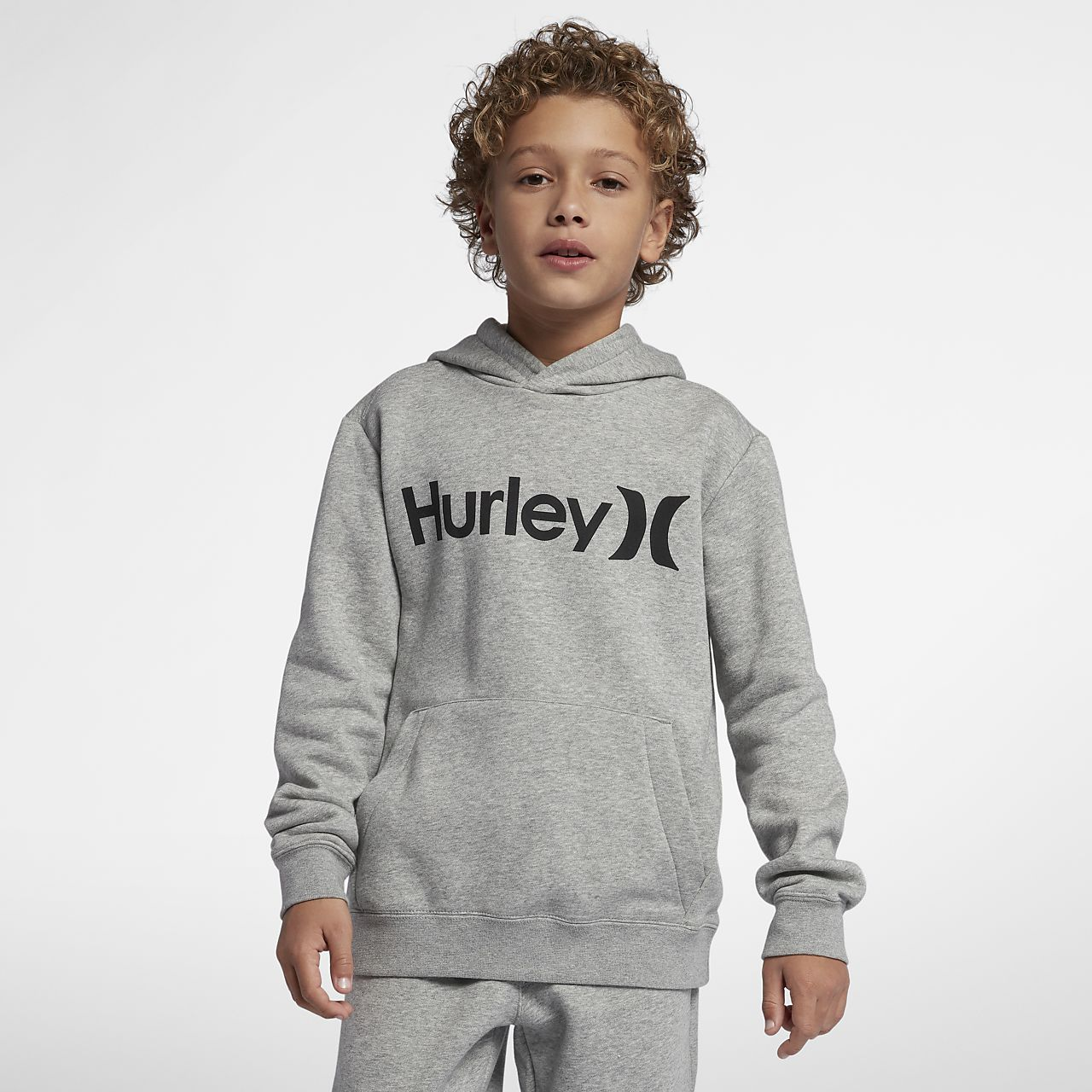 Hurley Surf Check Pullover Big Kids' (Boys') Hoodie