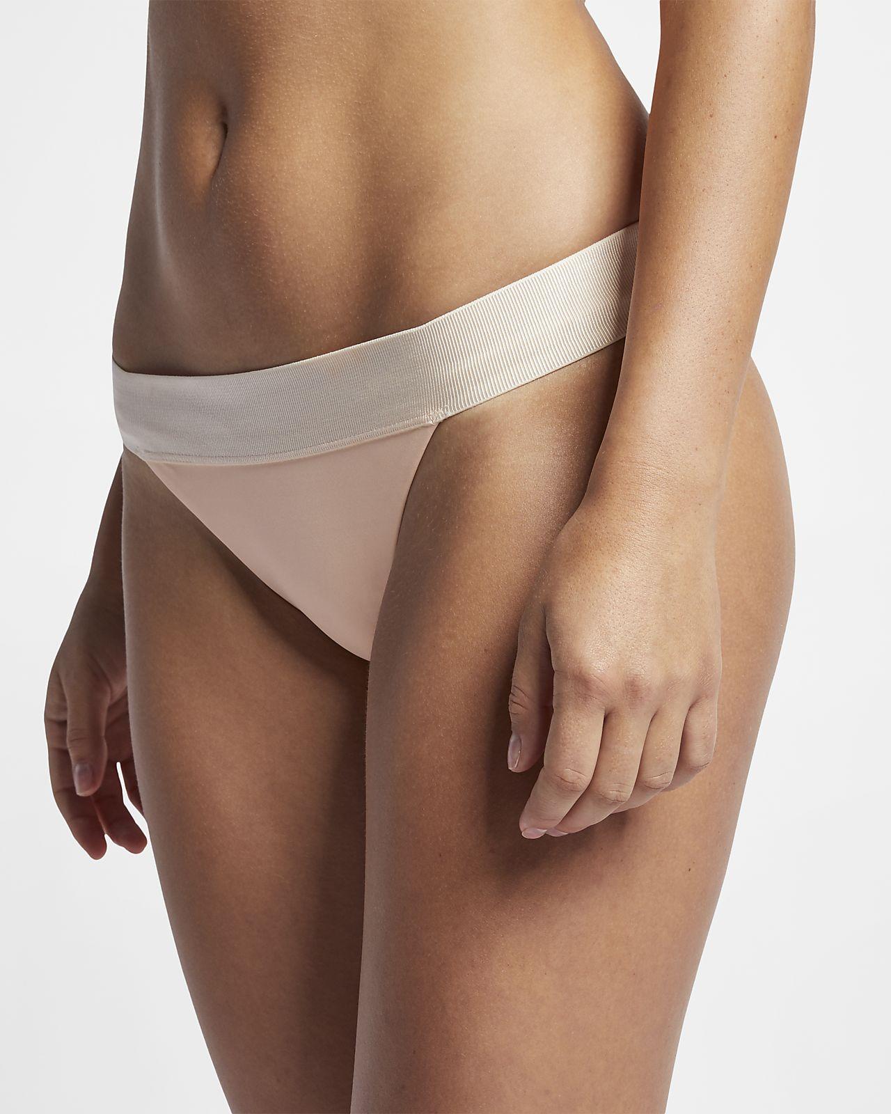 Cueca de bikini de surf Hurley Quick Dry Ballet para mulher