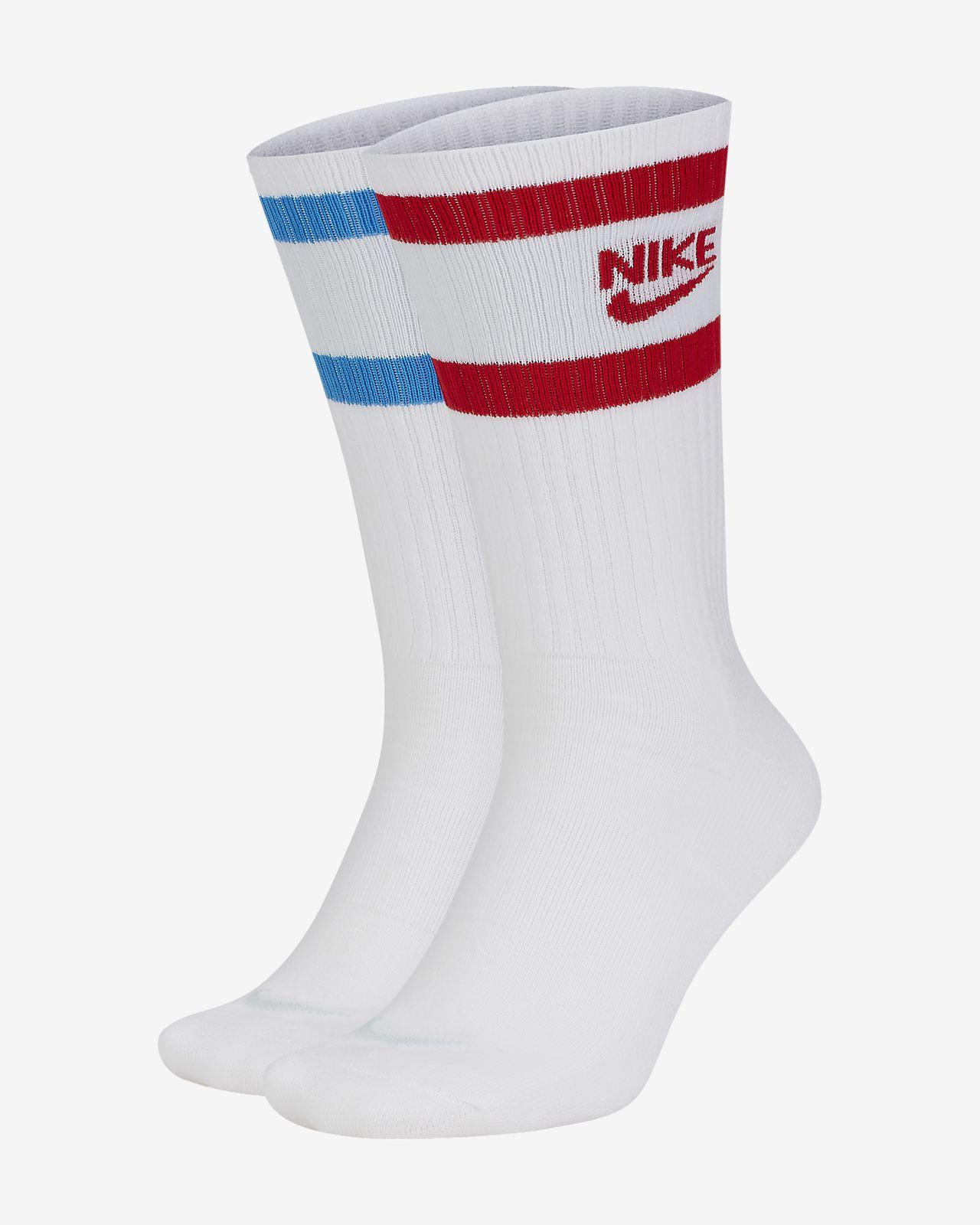 Nike Heritage Crew sokken (2 paar)
