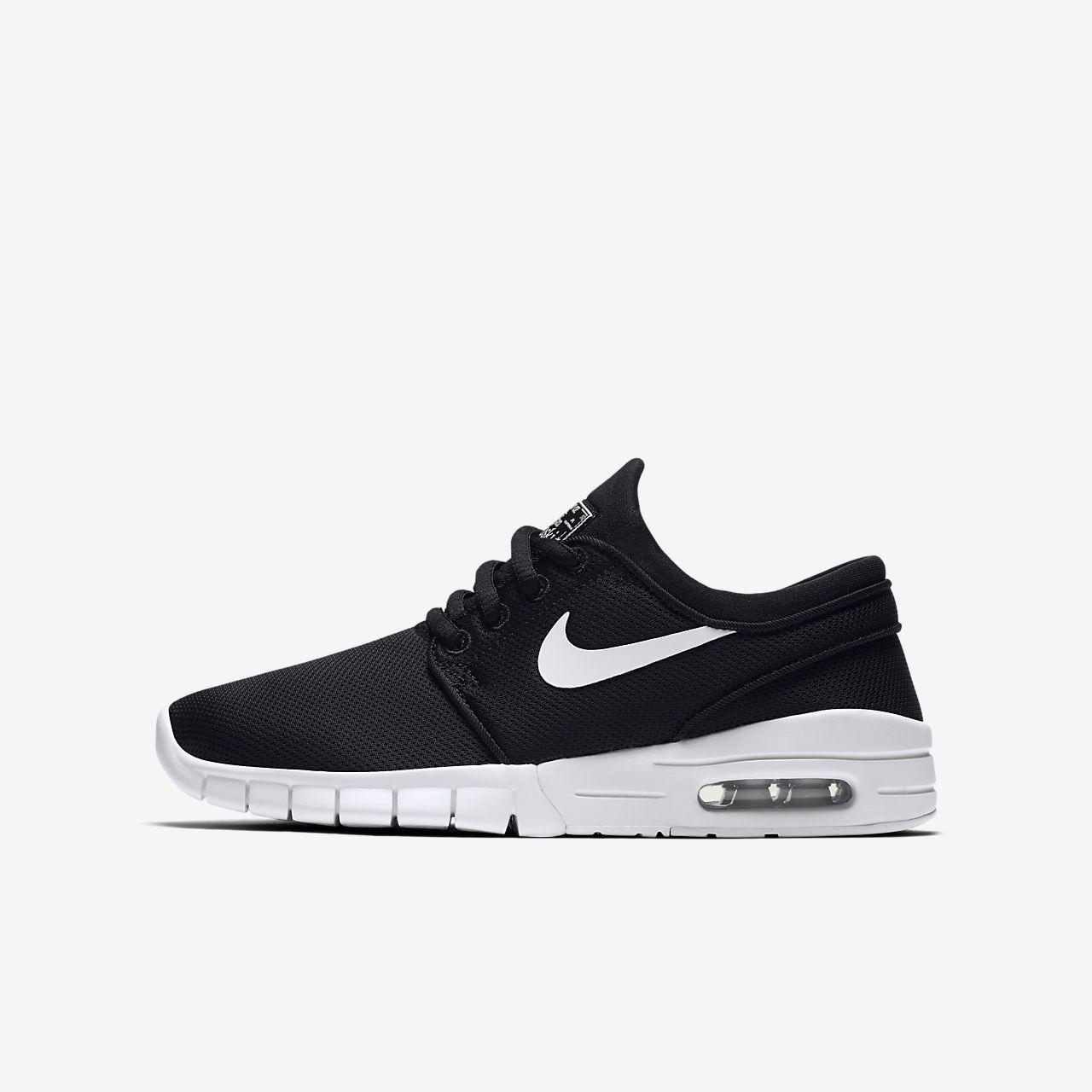 Chaussures Nike Stefan Janoski noires garçon Xithx5D8