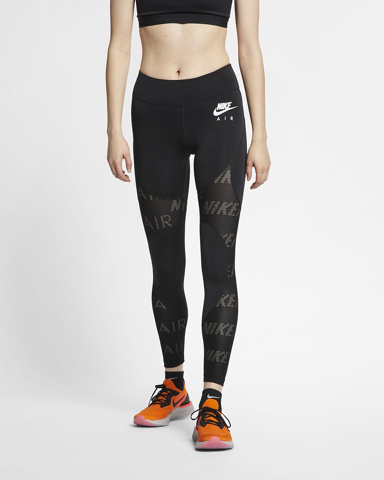 กางเกงวิ่งรัดรูปผู้หญิง 7 ส่วน Nike