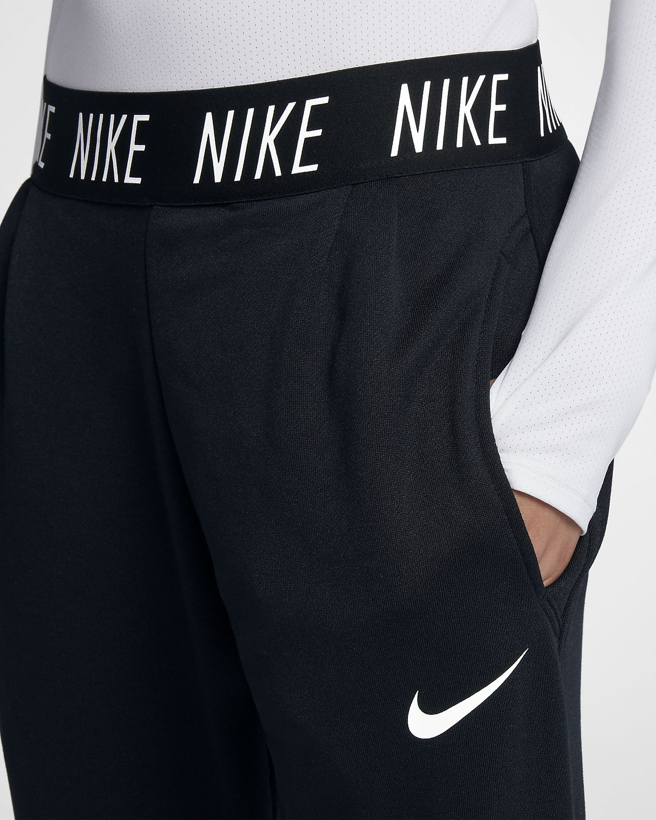 cdeeb1933add Nike Dri-FIT Core Studio Big Kids  (Girls ) Training Pants. Nike.com
