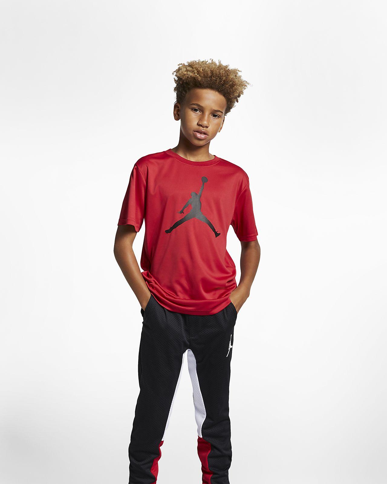 Jordan Dri-FIT Big Kids' (Boys') T-Shirt