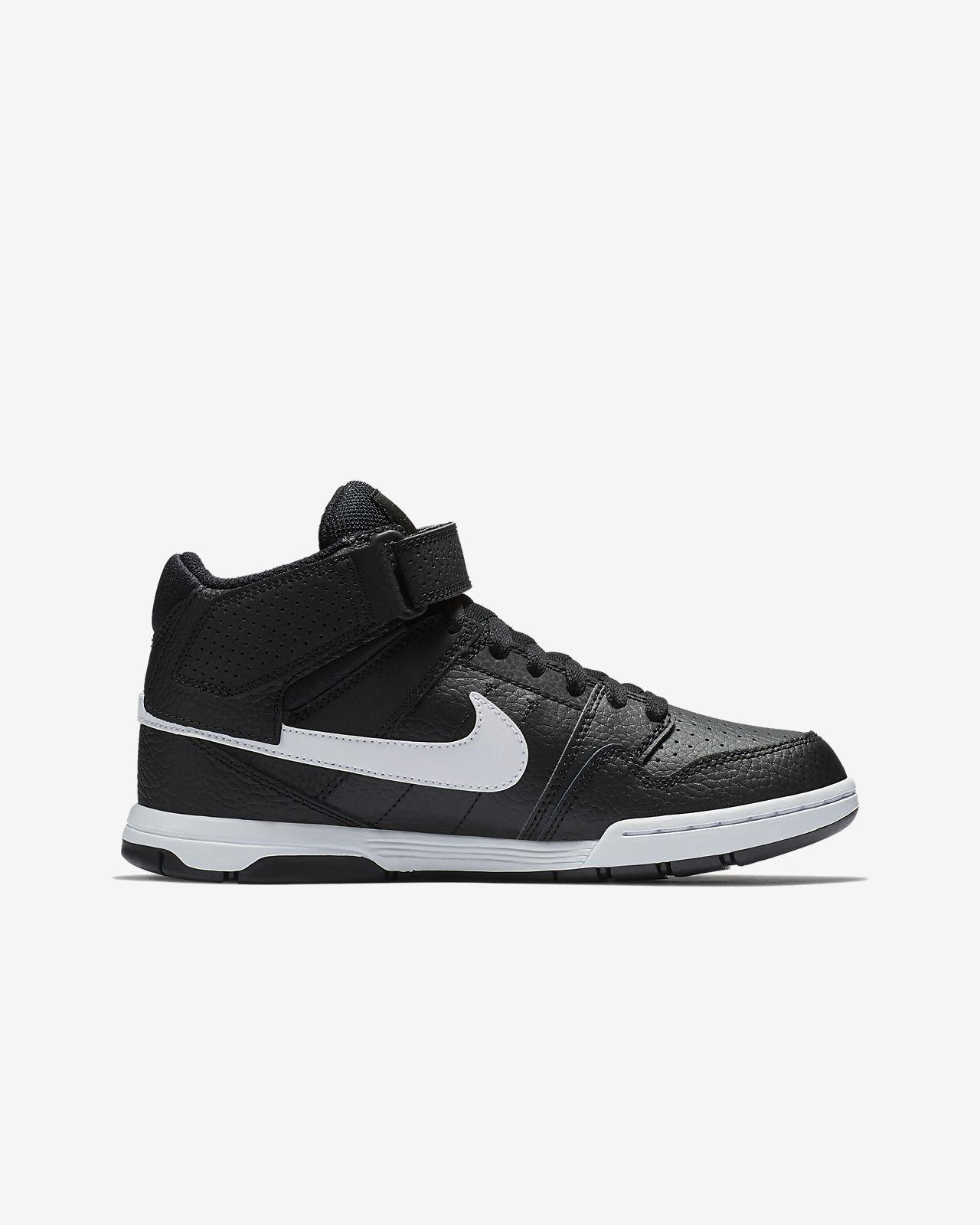 New Nike Girls or Boys Mogan MID 2JR B 645025 036 Shoes Size 5