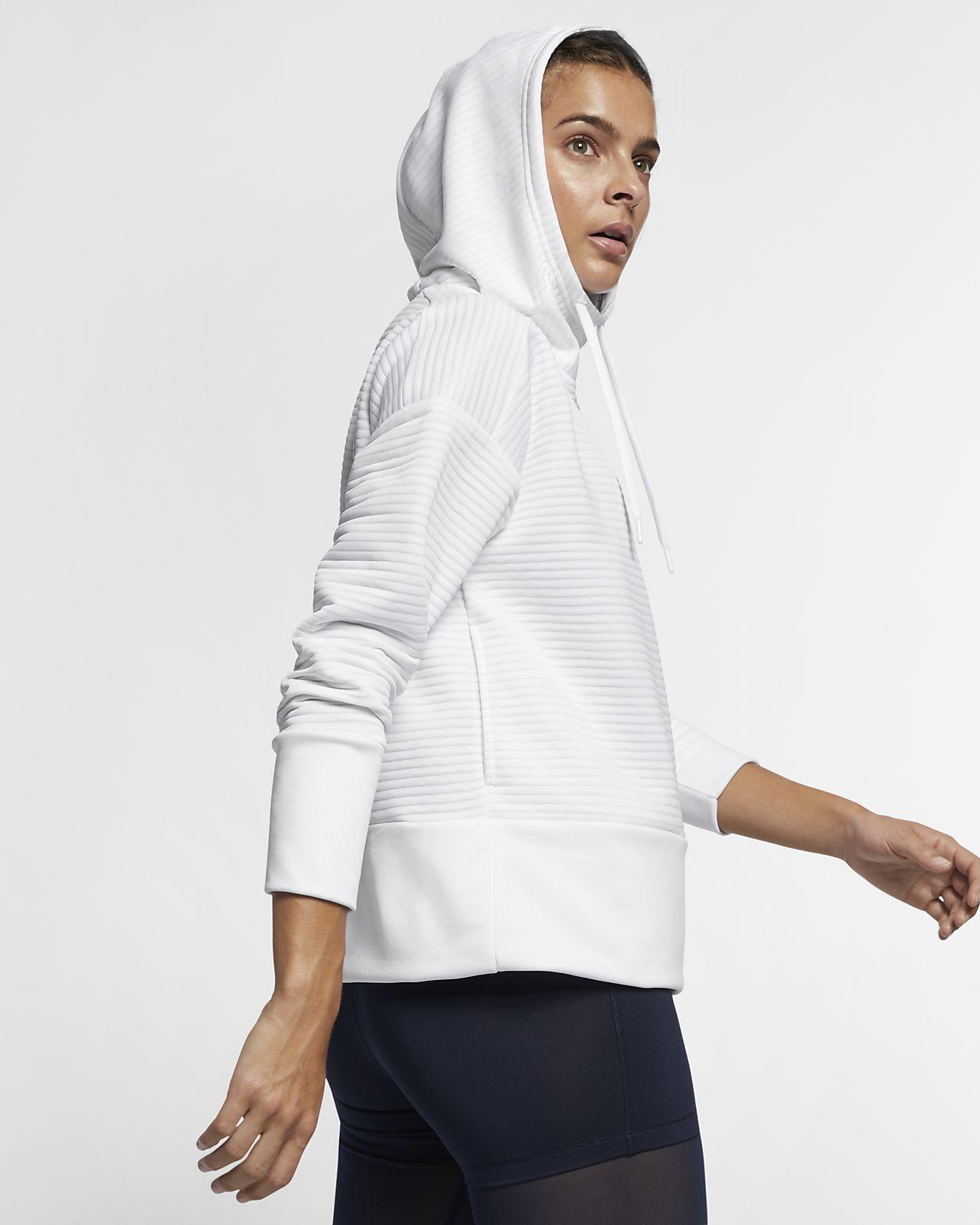 86d50f2f8086 Nike Dri-FIT Women s Training Pullover Hoodie. Nike.com